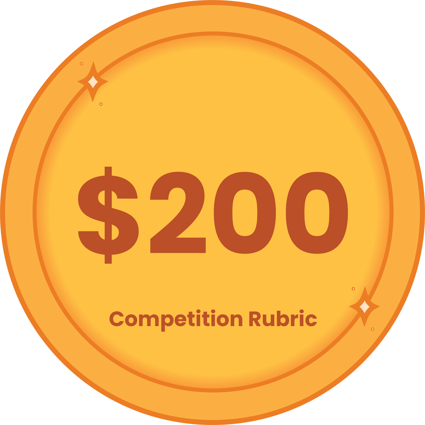 200 competition rubric