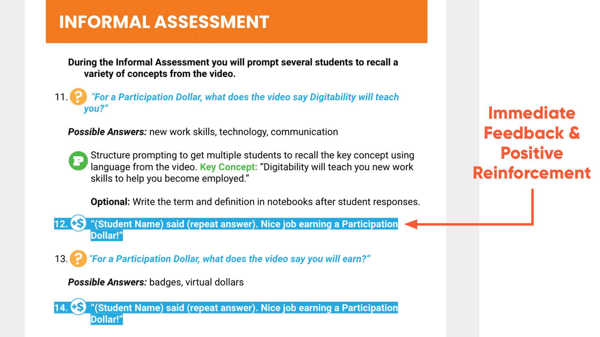 2021 immediate-feedback-reinforcement-informal-assessment