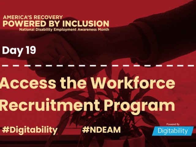 National Disability Employment Awareness Month – Day 19
