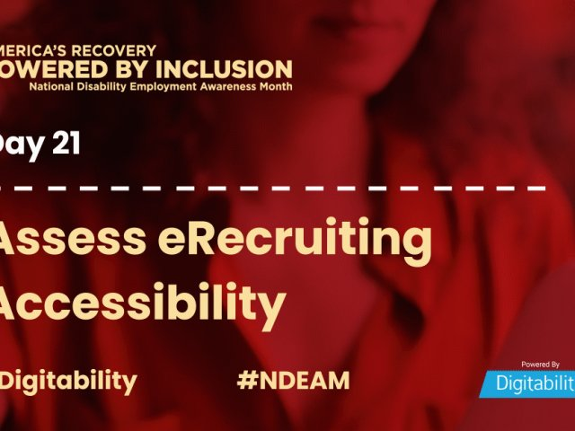National Disability Employment Awareness Month – Day 21