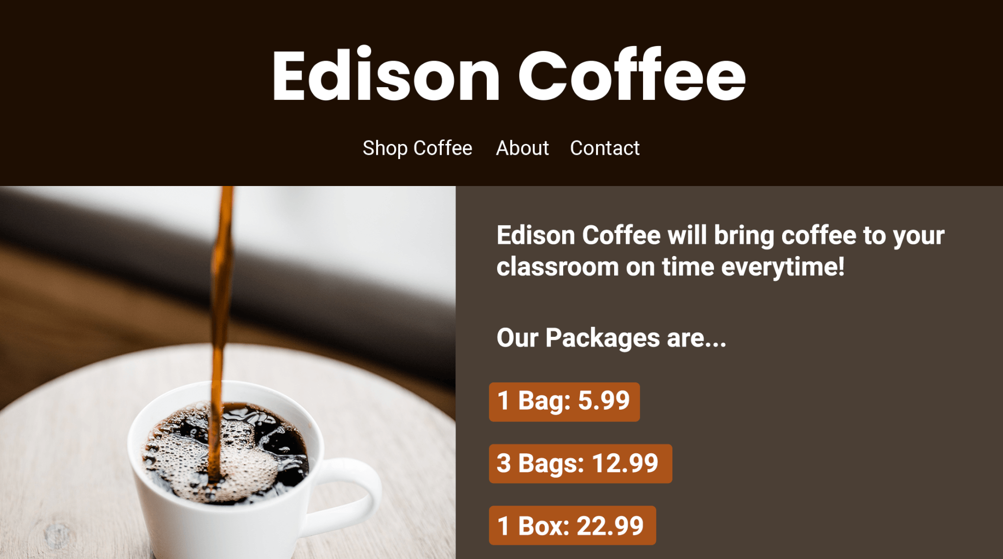 Edison - Coffee Business - LLD