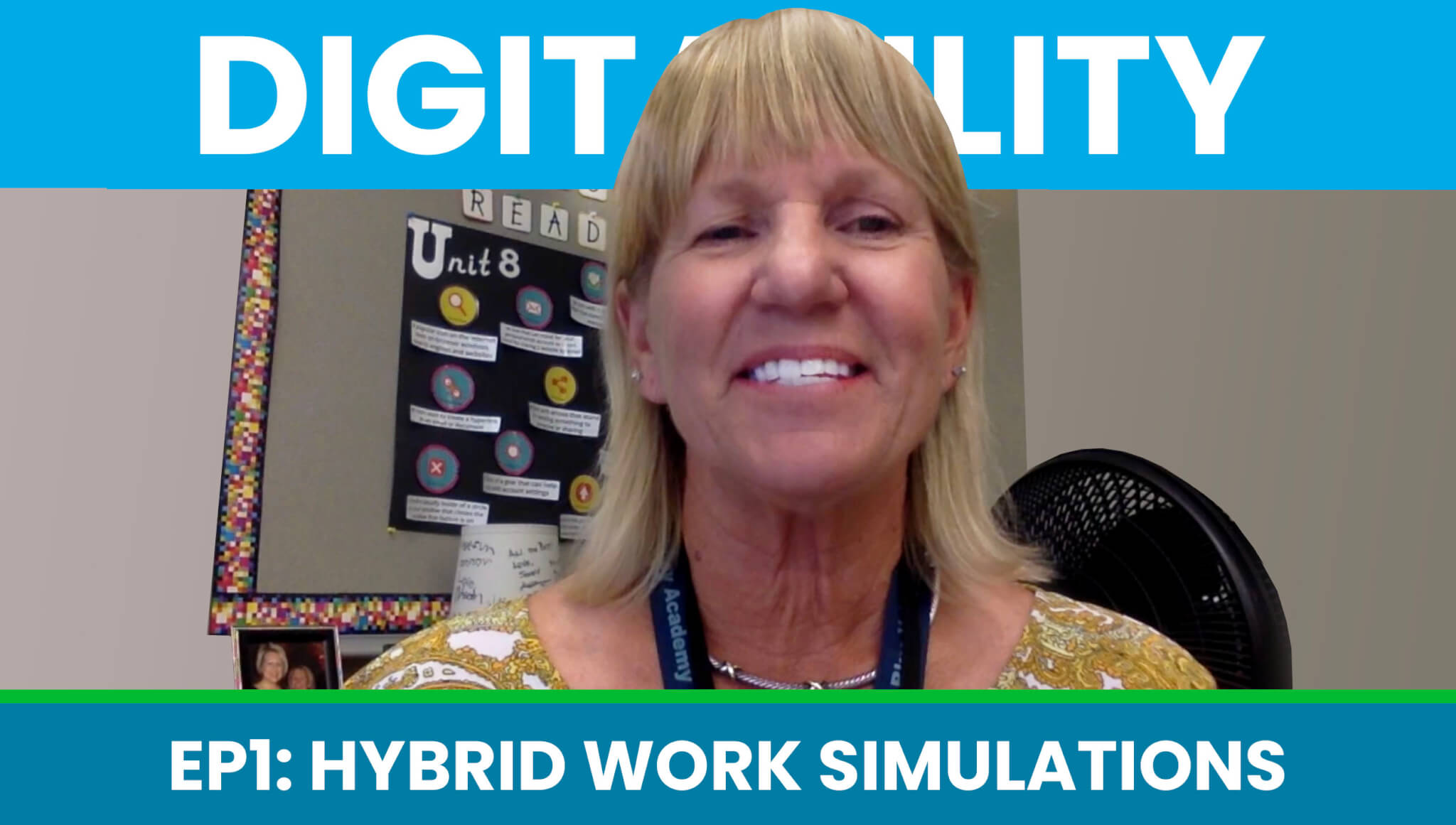 How a Teacher is Completing Hybrid Work Simulation