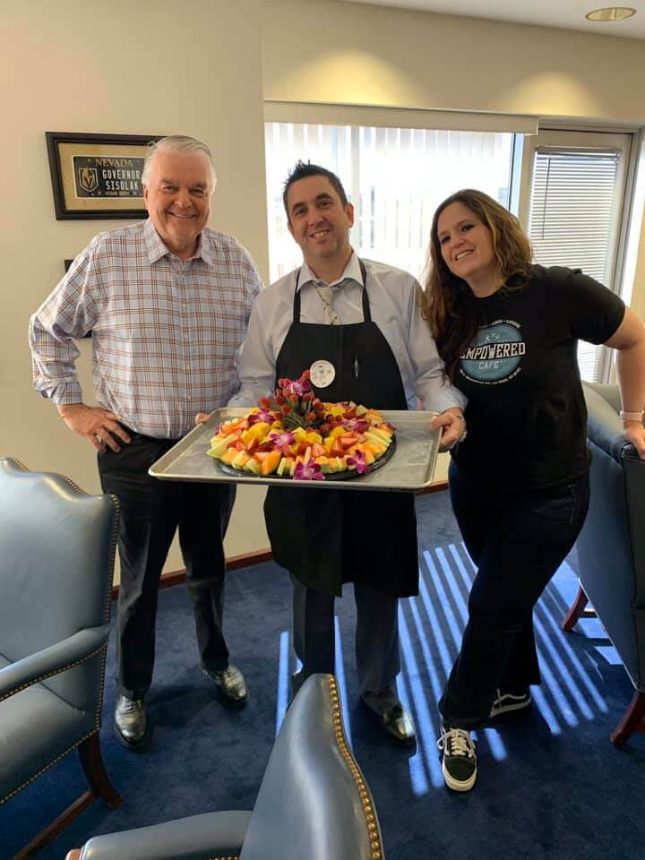Governor Sisolak Fruit Platter