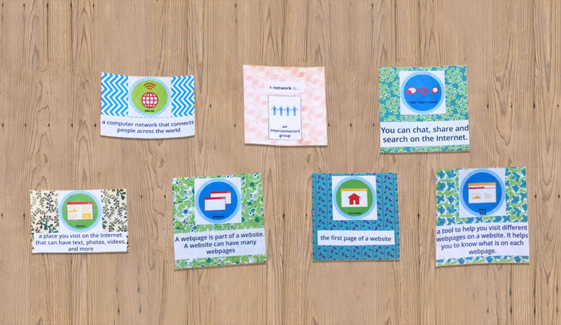 Download Your  FREE At-Home Badge Word Wall Resource