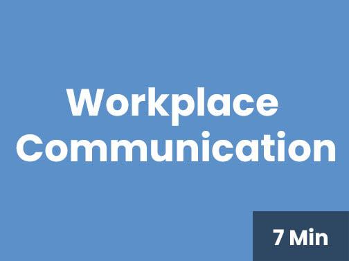 Workplace Communiation