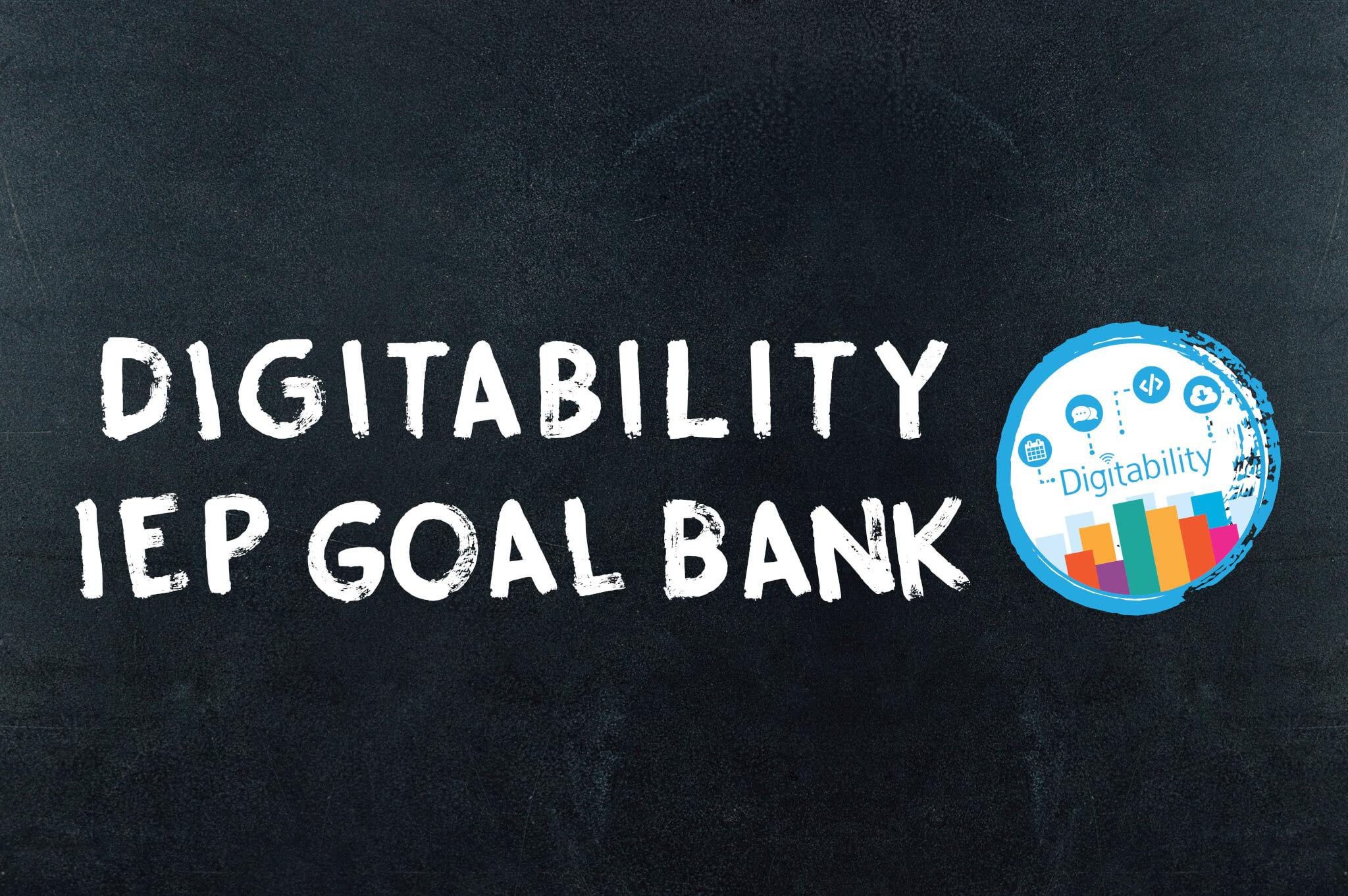 blackboard iep goal bank image