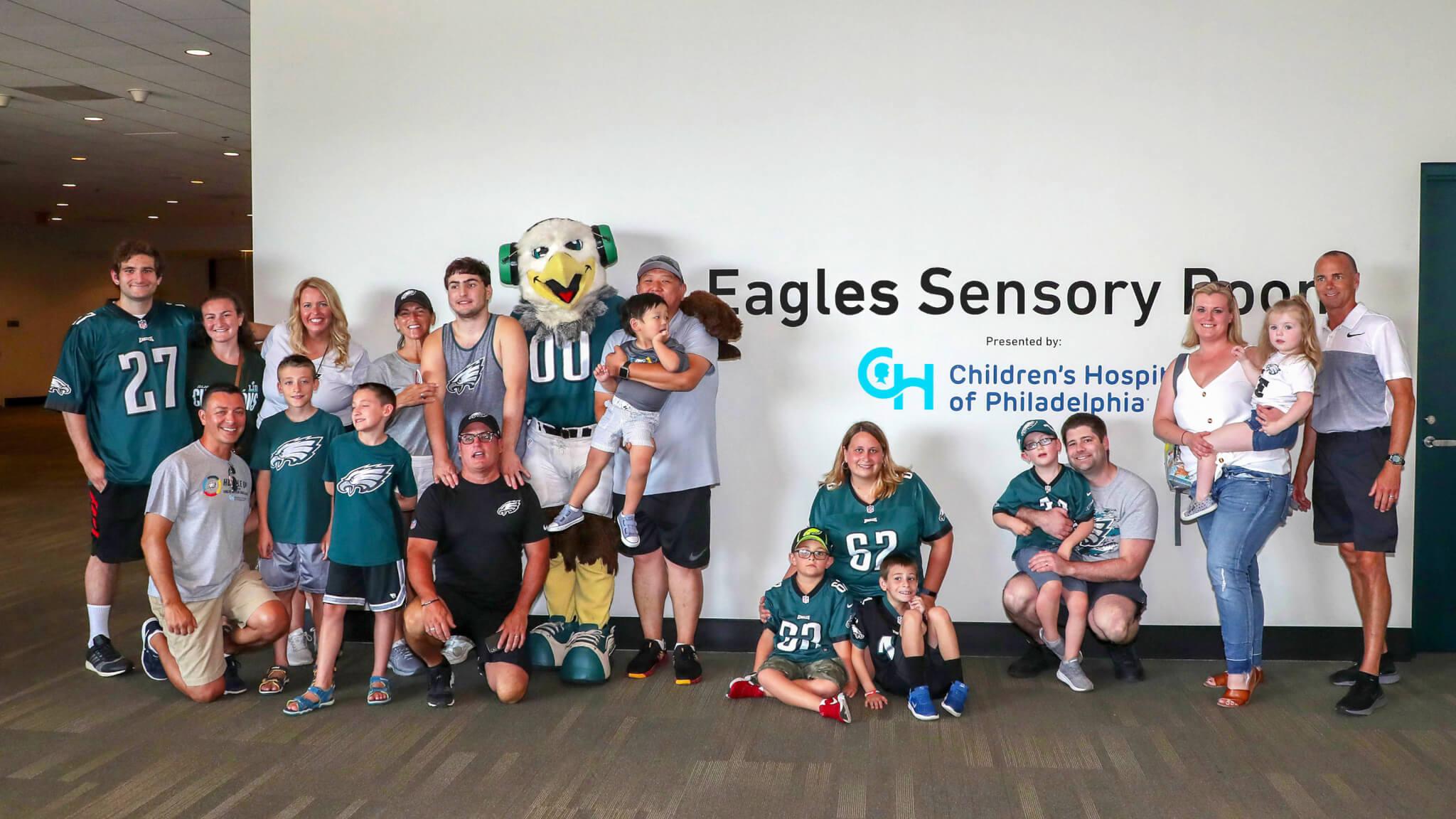 Philadelphia Eagles Autism sensory room credit Twitter