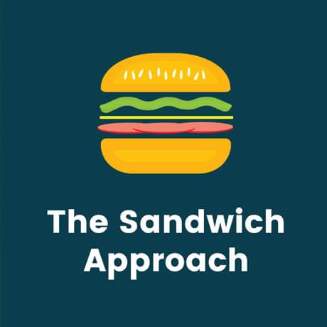 sandwich approach