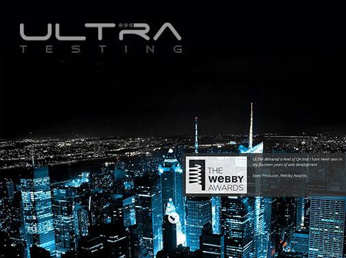 ultra testing video image