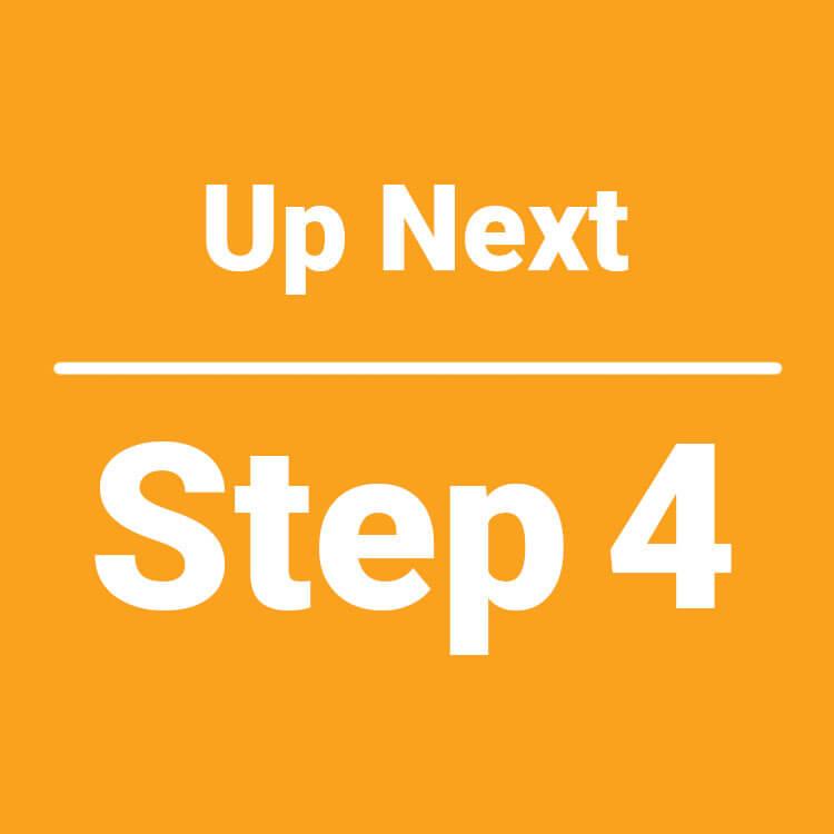 up next step 4