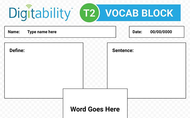vocabblock